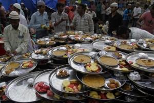 preparazione Iftar in India