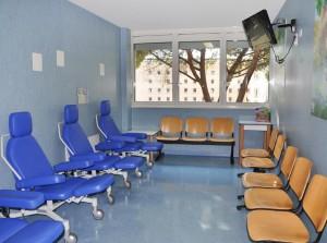 2. Sala di attesa Bambino Gesù