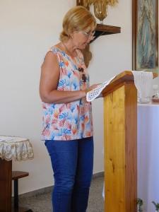 3.2a. La catechista Maria Cristina