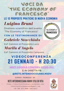 9. Locandina Voci da The Economy of Francesco